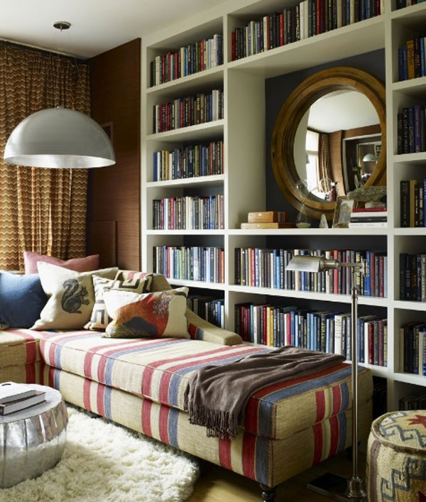 minimalista biblioteca
